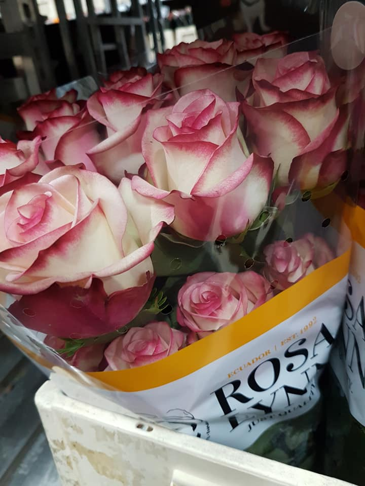 Valentijnsdag rozen assortiment